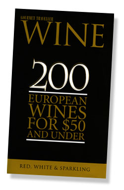 Gourmet Traveller Wine Guide